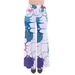 Cracked wall                Women s Chic Palazzo Pants
