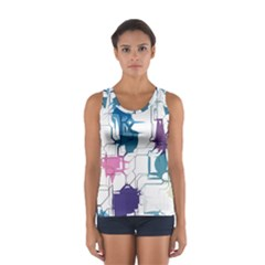 Cracked Wall                                 Women s Sport Tank Top