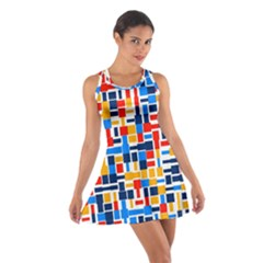 Colorful Shapes                                  Cotton Racerback Dress