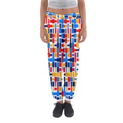 Colorful shapes                                  Women s Jogger Sweatpants