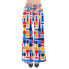 Colorful shapes                 Women s Chic Palazzo Pants