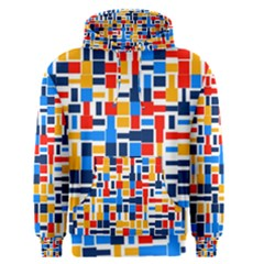 Colorful shapes                                  Men s Pullover Hoodie