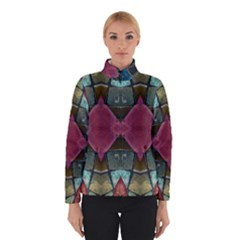 Pink Turquoise Stone Abstract Winterwear