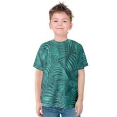 Tropical Hawaiian Print Kid s Cotton Tee