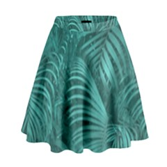 Tropical Hawaiian Print High Waist Skirt