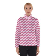 Soft Pink & White Zigzag Pattern Winterwear