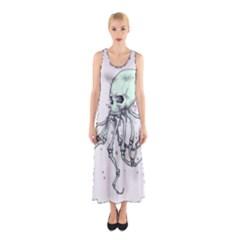 Skellingpus Sleeveless Maxi Dress