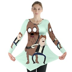 Space Adventure! Mans Best Friend Long Sleeve Tunic