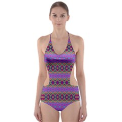 DANCE HALL Cut-Out One Piece Swimsuit