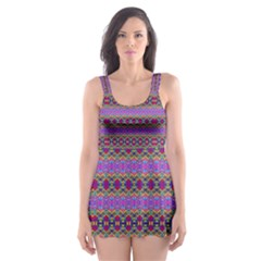 DANCE HALL Skater Dress Swimsuit