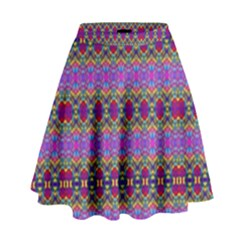 Dance Hall High Waist Skirt