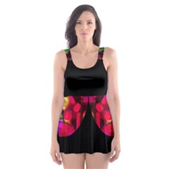 geo free will Skater Dress Swimsuit