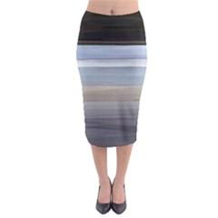 Pompey Beach Midi Pencil Skirt