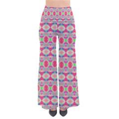 Pretty Pink Shapes Pattern Pants