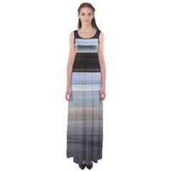 Pompey Beach Empire Waist Maxi Dress