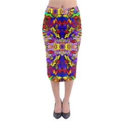 Psycho One Midi Pencil Skirt