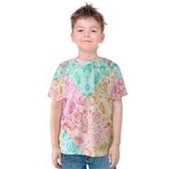 A Rose Is A Rose Kid s Cotton Tee