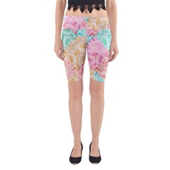 A Rose Is A Rose Yoga Cropped Leggings