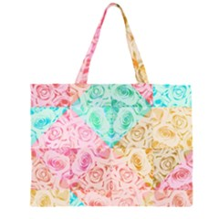 A Rose Is A Rose Large Tote Bag