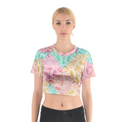 A Rose Is A Rose Cotton Crop Top