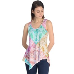 A Rose Is A Rose Sleeveless Tunic