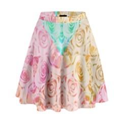 A Rose Is A Rose High Waist Skirt