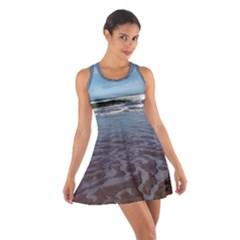 Ocean Surf Beach Waves Racerback Dresses