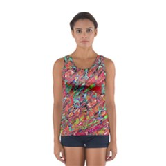 Expressive Abstract Grunge Tops