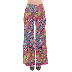 Expressive Abstract Grunge Pants