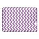 Lilac Purple & White Zigzag Pattern Kindle Fire HDX 8.9  Hardshell Case View1