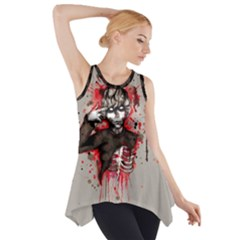 The World Is A Filthy Place Side Drop Tank Tunic