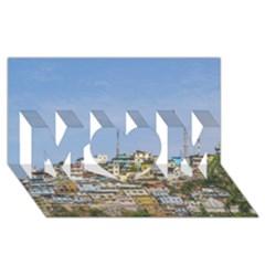 Cerro Santa Ana Guayaquil Ecuador MOM 3D Greeting Card (8x4)