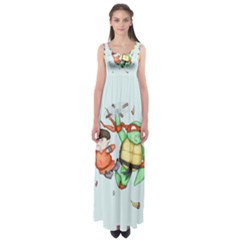 Mike & Tum Tum Empire Waist Maxi Dress