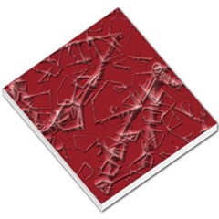 Thorny Abstract,red Small Memo Pads