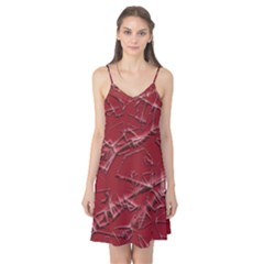 Thorny Abstract,red Camis Nightgown