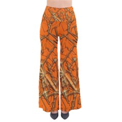 Thorny Abstract, Orange Pants