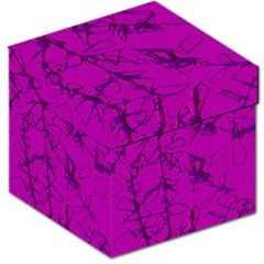 Thorny Abstract,hot Pink Storage Stool 12