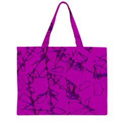 Thorny Abstract,hot Pink Large Tote Bag