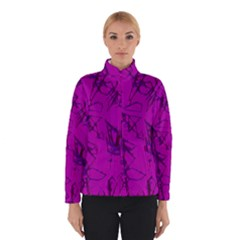 Thorny Abstract,hot Pink Winterwear