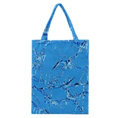 Thorny Abstract,ice Blue Classic Tote Bag