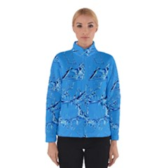 Thorny Abstract,ice Blue Winterwear