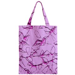 Thorny Abstract,soft Pink Zipper Classic Tote Bag