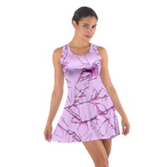 Thorny Abstract,soft Pink Racerback Dresses