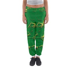 Thorny Abstract,green Women s Jogger Sweatpants