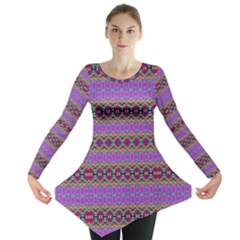 SATURN SUN Long Sleeve Tunic