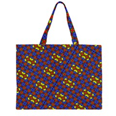 PSYCHO TWO Zipper Large Tote Bag