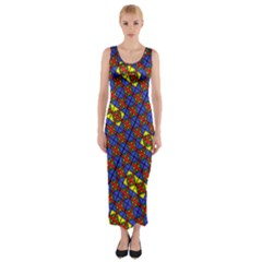 Psycho Two Fitted Maxi Dress