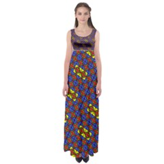 PSYCHO TWO Empire Waist Maxi Dress