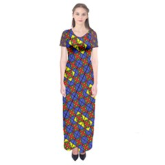 Psycho Two Short Sleeve Maxi Dress