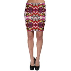 Birds Bodycon Skirt